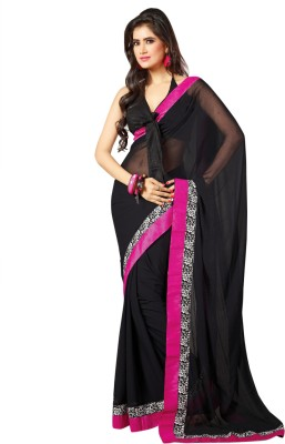 Triveni Self Design Fashion Chiffon Sari