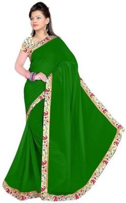 Arohee Plain Bollywood Handloom Chiffon Sari