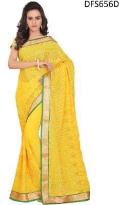 Firstloot Printed Fashion Georgette Sari