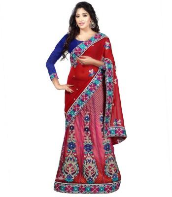 Sayonafashion Embriodered Bhagalpuri Pure Georgette Sari