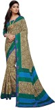 Aesha Printed Fashion Tussar Silk Saree ...