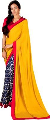 JK Fabrics Plain Fashion Jacquard Sari