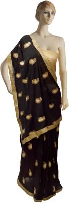Serwans Embriodered Fashion Chiffon Sari