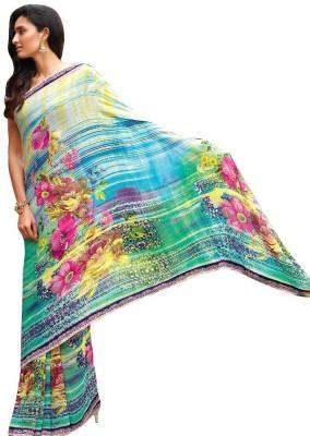 Laxmipati Self Design Fashion Pure Georgette Sari