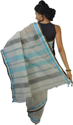 FabIndian Embriodered Garad Handloom Cotton Sari