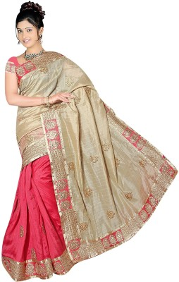Bano Tradelink Self Design Bhagalpuri Banarasi Silk Sari