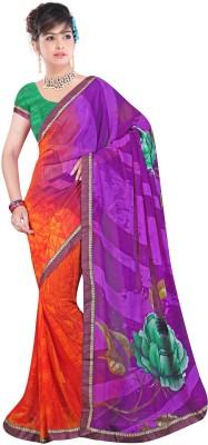 Aakansha Printed Fashion Georgette Sari