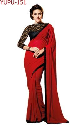 Fashion Web Self Design Bollywood Georgette Sari