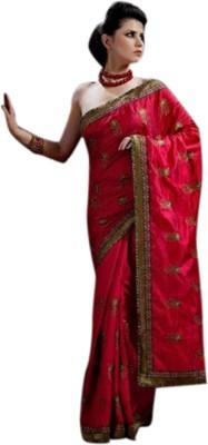 Fashion Studio Embriodered Fashion Raw Silk Sari