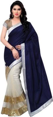 Krishna Ki Leela Embriodered Fashion Velvet Sari