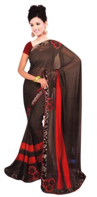 Fency Fession Self Design Fashion Synthetic Fabric Sari