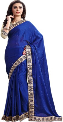Pawan Tex Self Design Bollywood Pure Chiffon Sari