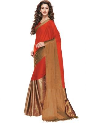Ishin Woven Fashion Polycotton Sari
