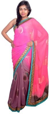 Kanchan Shree Self Design Bollywood Georgette Sari