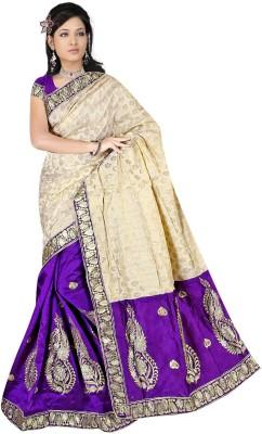 Shree Shyam Silk Embriodered Chanderi Chanderi Sari