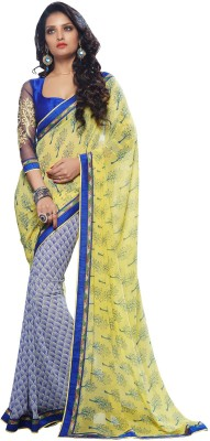Craze N Demand Printed Fashion Georgette Sari