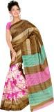 Raviraj Floral Print Bhagalpuri Silk Cot...