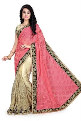 Hari Krishna sarees Embriodered Fashion Viscose Sari