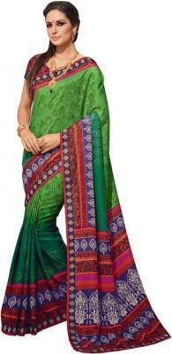 Aesha Printed Fashion Tussar Silk Sari