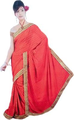 Vivah Embellished Bollywood Brasso Sari