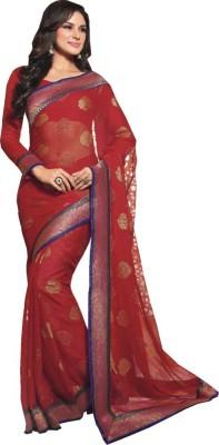 Vishal Prints Printed Fashion Synthetic Georgette Sari
