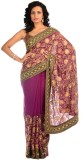 Chhabra 555 Self Design Fashion Georgett...