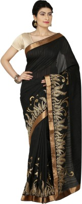 Bhavi Striped Fashion Art Silk Sari