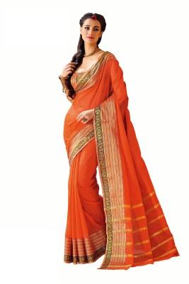 Roop Kashish Woven Fashion Cotton Sari
