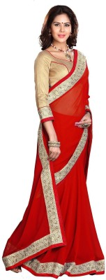 Vishal Saree Self Design Fashion Chiffon Sari