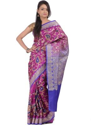 Banarasi Fashions Woven Banarasi Art Silk Sari