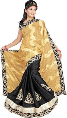Alliance Fashion Self Design Fashion Cotton Sari