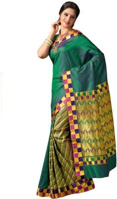 IVAANA Self Design Kanjivaram Art Silk Sari