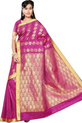 Shreemeena Printed Daily Wear Silk Sari