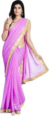 Divas Designerz Self Design Fashion Georgette Sari