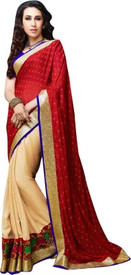 Anwesha Sarees Self Design Fashion Art Silk Sari