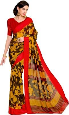 Paaneri Self Design Fashion Georgette Sari