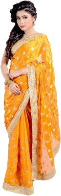 Vogue4all Embriodered Fashion Chiffon Sari