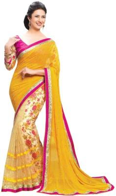 Festive Printed Bollywood Net, Georgette Sari
