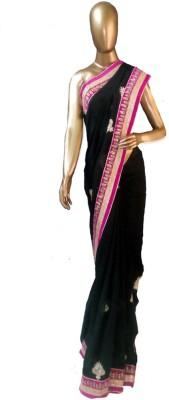 samRddha Creations Embriodered Fashion Georgette Sari