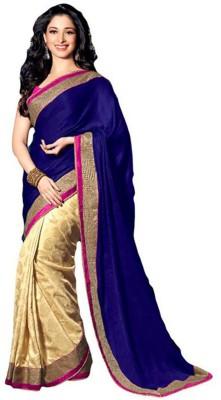 Offer Point Self Design Bollywood Chiffon Sari