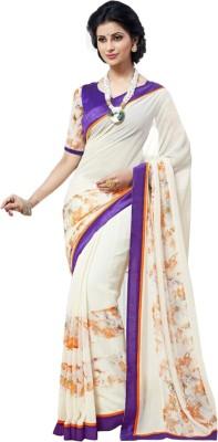 fashion web Printed Bollywood Georgette Sari