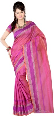 Yaari Fashion Plain Daily Wear Silk Sari