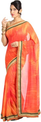 Vandanaraj Printed Fashion Georgette Sari