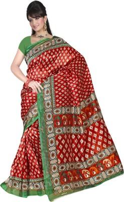 Maxusfashion Printed Fashion Cotton Sari