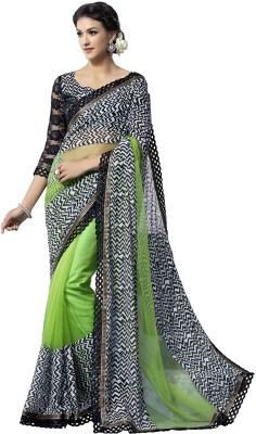 Rajshri Fashions Printed Fashion Georgette Sari