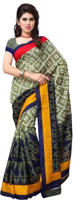 JTInternational Printed Fashion Handloom Art Silk Sari