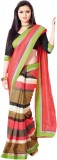 Hypnotex Striped Fashion Art Silk Saree ...