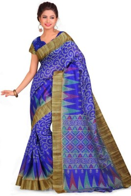 Chirmangal Printed Fashion Art Silk Sari