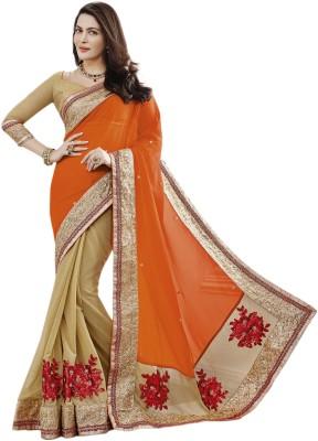 Suchi Fashion Embriodered Fashion Georgette Sari
