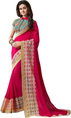 Glamour Tex Embriodered Bollywood Georgette Sari